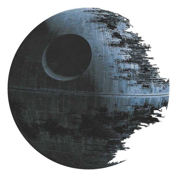 Starwars dödsstjarnan väggdekor