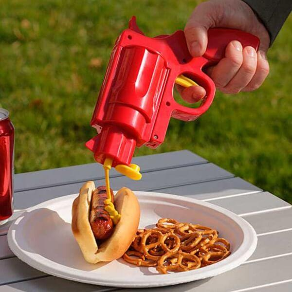Ketchup hållare