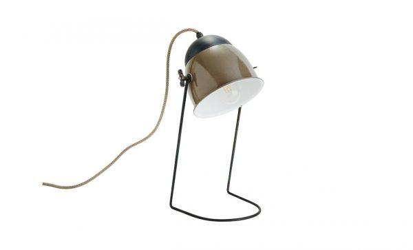 AMBROSE Bordslampa Taupe