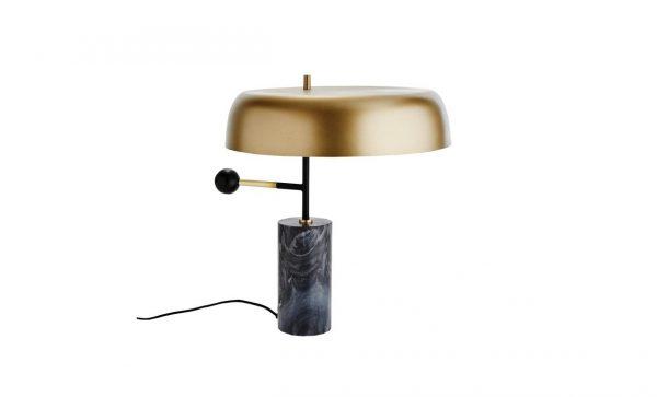 BERG Bordslampa Marmor/Mässing