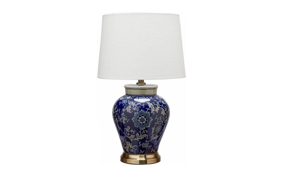 FANG HONG Bordslampa Mörkblå