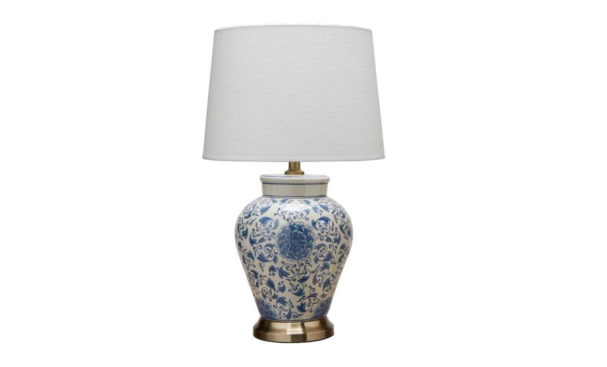 FANG HONG Bordslampa Vit/Blå