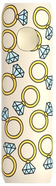 FLAVR Powerbank 2600 mAh - Diamond Rings
