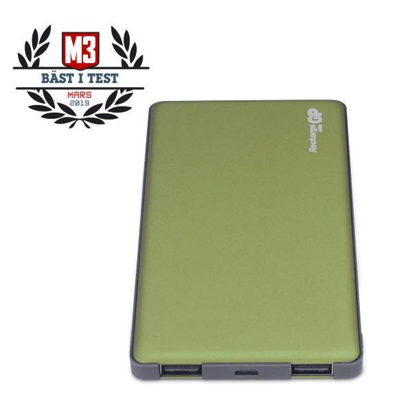GP Powerbank Voyage 2 / 5000 mAh - Olive Green