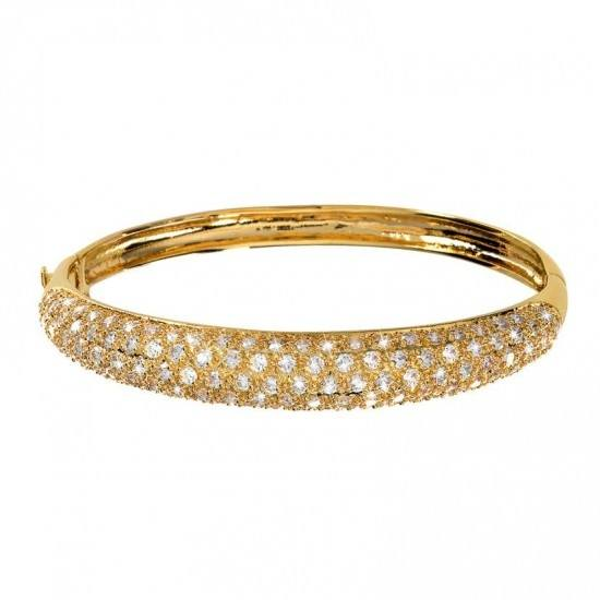 Guldpläterat Armband Bangle