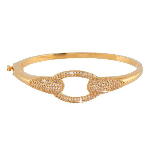 Guldpläterat armband