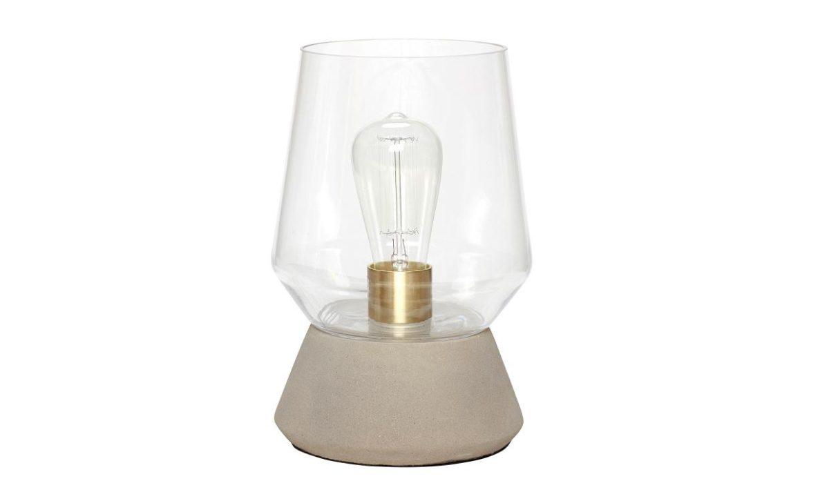NICCI Bordslampa Glas