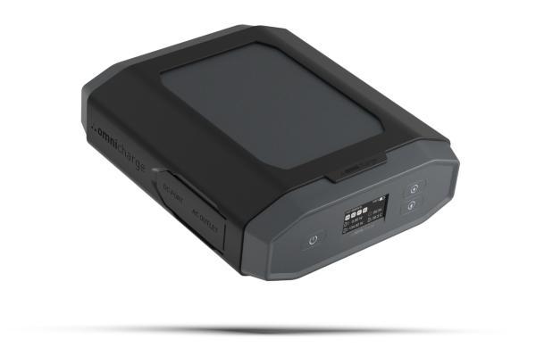 Omnicharge Omni Ultimate + USB-C 40300 mAh Smart Powerbank laddare