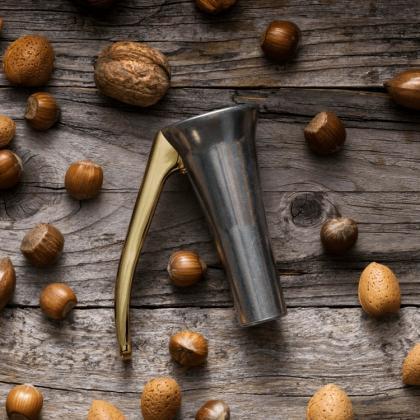 Nötknäppare Drosselmeyer, zink & guld