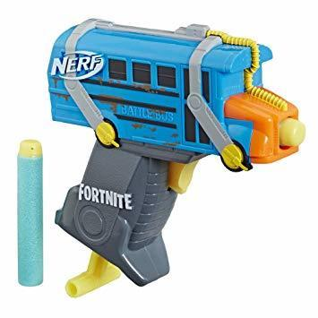 Nerf Fortnite Micro Shots Battle Bus