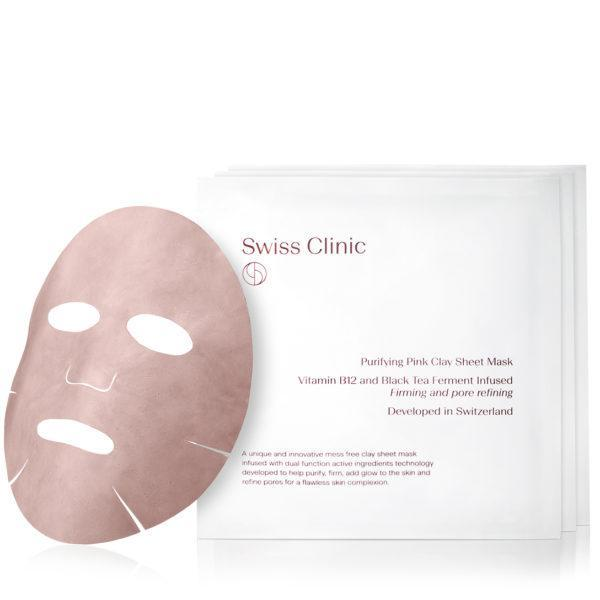 Purifying Pink Clay Sheet Mask 3-Pack