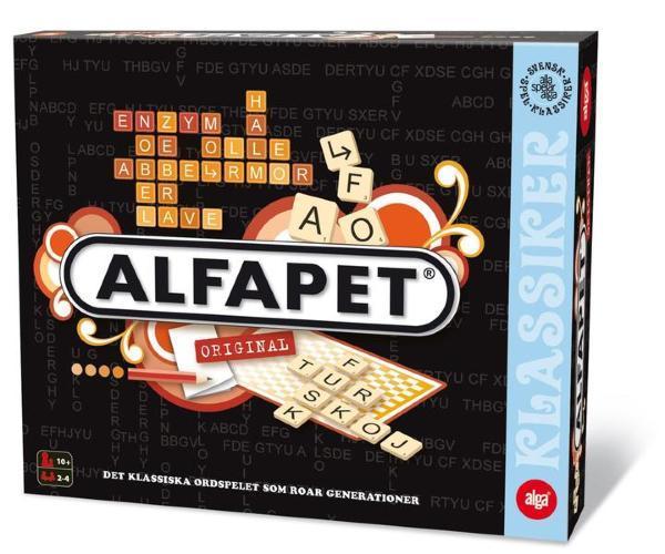 ALGA spel Alfapet
