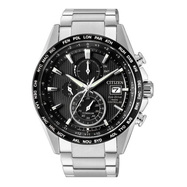 Citizen Eco Drive Radio Controlled Titanium AT8154-82E