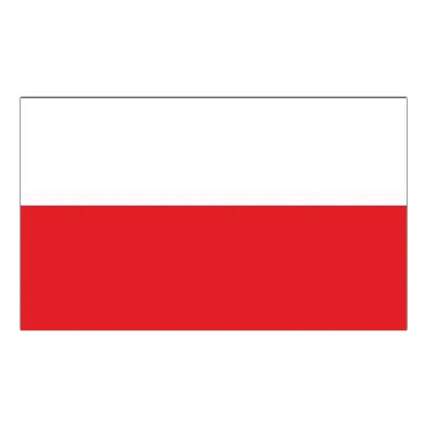 Flagga Polen - 150 x 90 cm