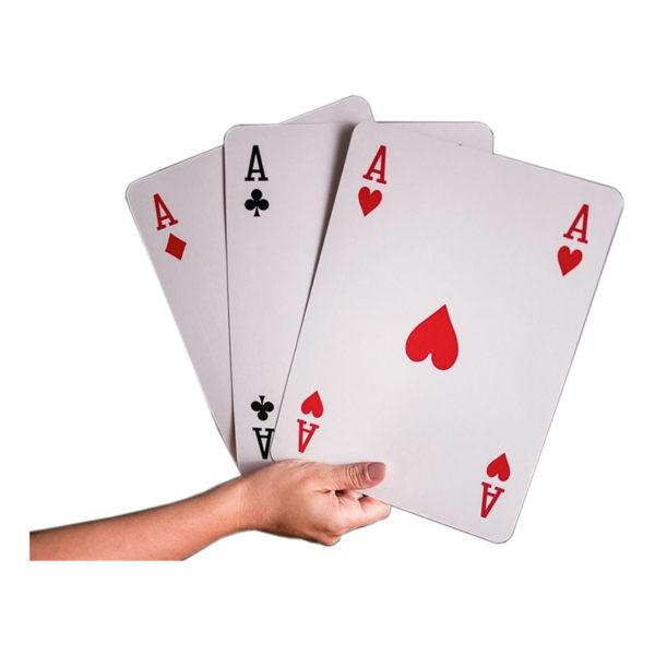 Gigantiska Spelkort