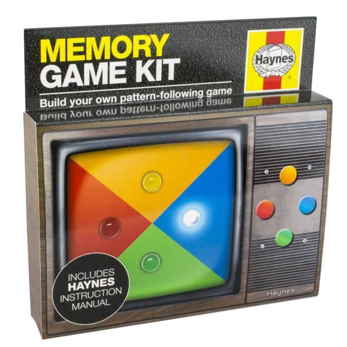 Haynes Memory Game Byggsats för spel som tränar minnet