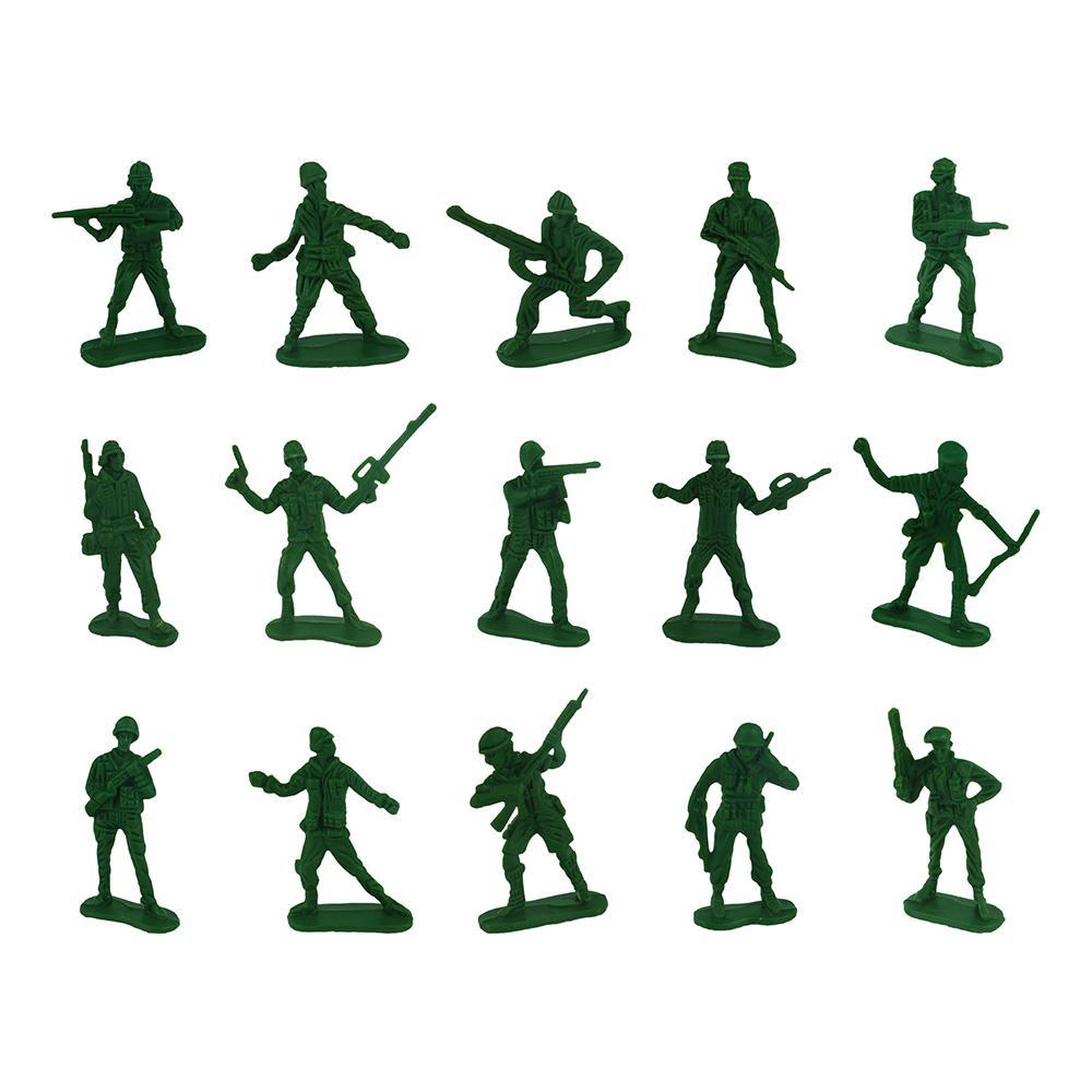 Leksakssoldater - 50-pack