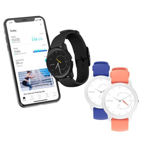 Withings Move Aktivitetsarmband Svart/Gul