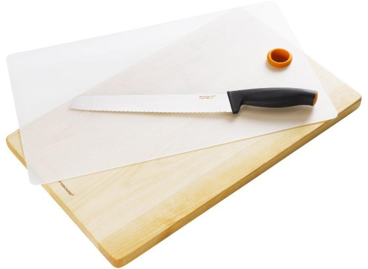 Fiskars Functional Form Set med Brödkniv och Skärbräda