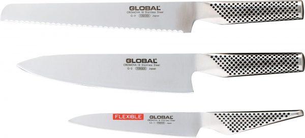 Global G-9211 Startset med G-9, G-2, GS-11