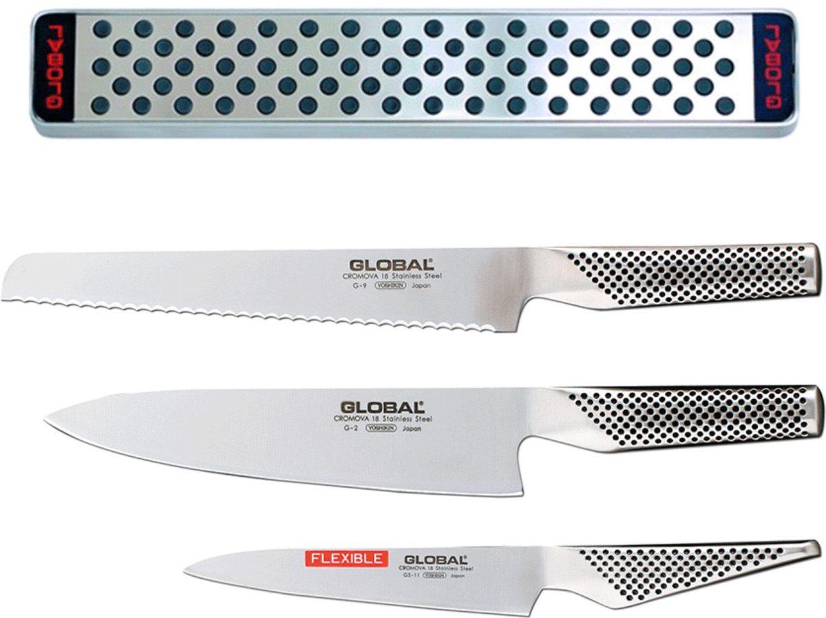 Global Knivset Med G-2 G-9 GS-11 samt Knivlist G-42/31