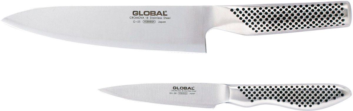 Global knivset G-5538 med G-55 samt GS-38