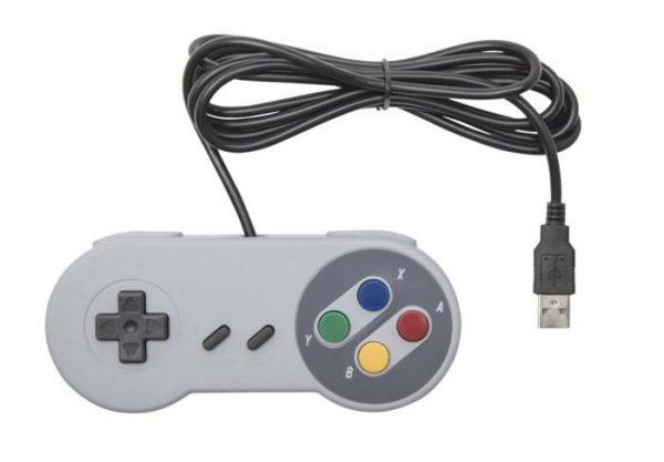 Handkontroll med USB-anslutning SNES