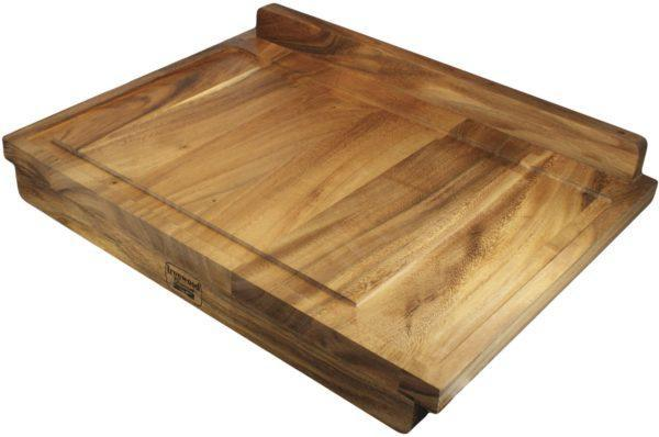 Ironwood Gourmet Bakbord- och Skärbräda 60,3 x 43,6 x 3,2 cm