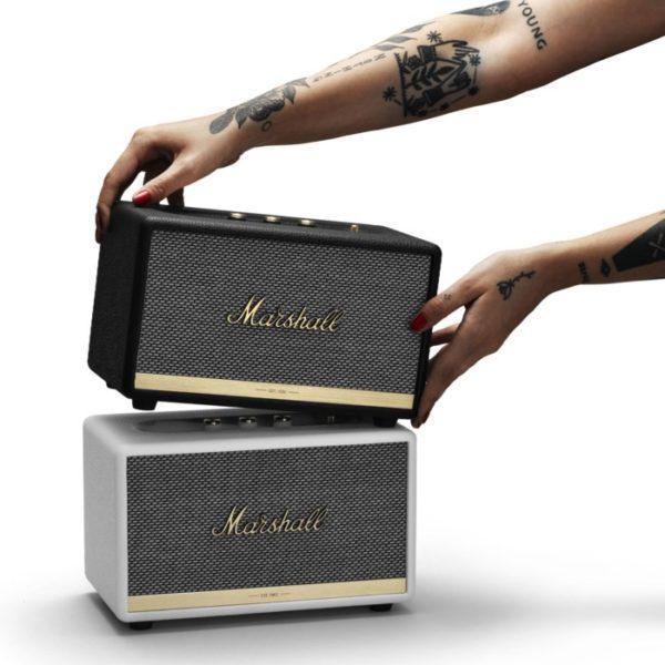 Marshall Acton II Bluetooth-högtalare Vit