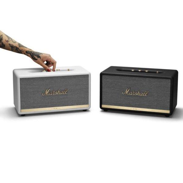 Marshall Stanmore II Bluetooth-högtalare Vit