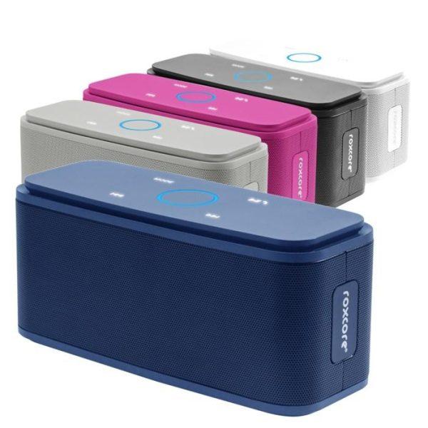 Roxcore Halo Portabel Bluetooth-högtalare Vit