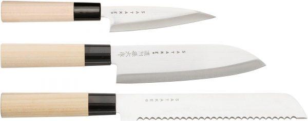 Satake Houcho Knivset 3 delar i Balsabox