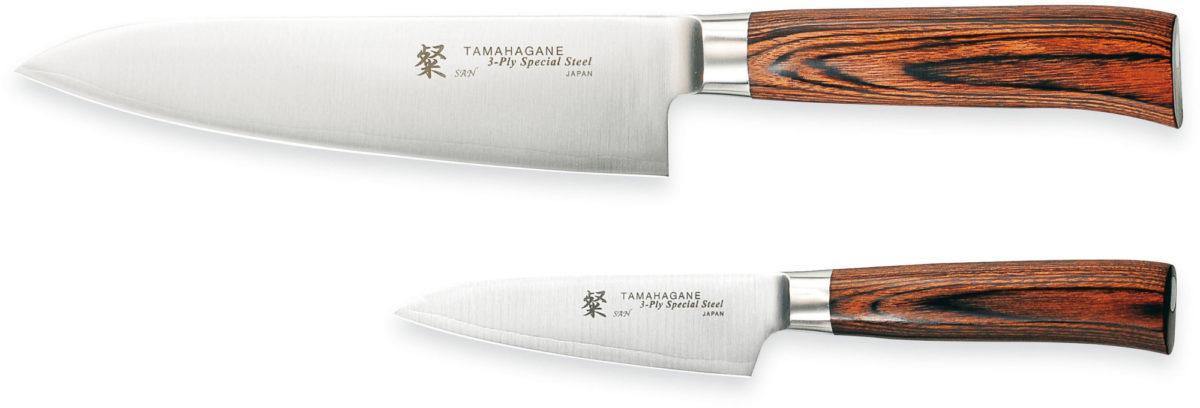 Tamahagane SAN Knivset 2 delar SN-1106 & SN-1109