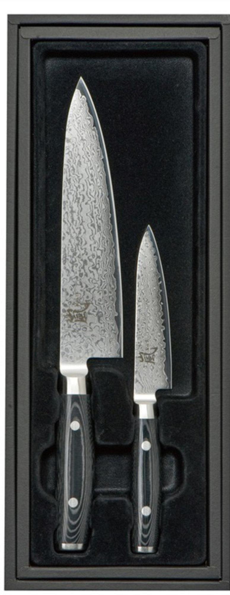 Yaxell RAN Kockkniv 20cm & Allkniv 12cm