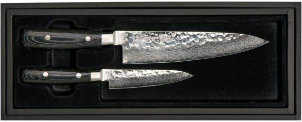 Yaxell ZEN 2-del Kockkniv 20 cm & Allkniv 12 cm