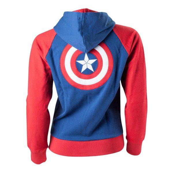 Captain America Dam Hoodie - Large