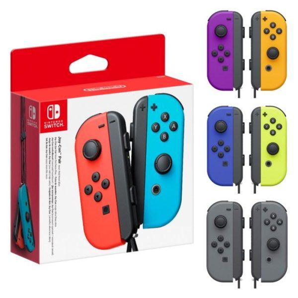 Nintendo Joy-Con Pair Handkontroller Blå/gul