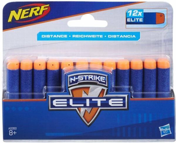 NERF - N Strike Elite Dart Refill 12-pack