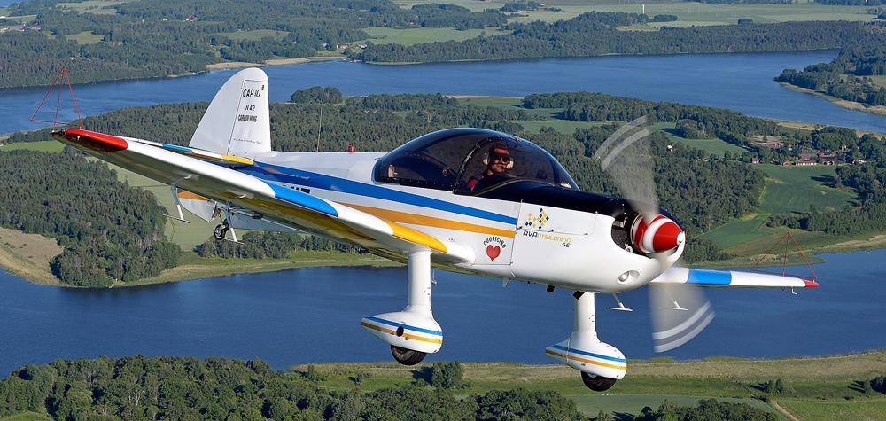 Aerobaticflyg - Akrobatisk flygning med G-krafter