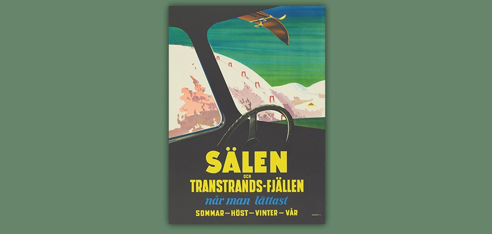 Affisch Sälen och Transtrandsfjällen 50x70