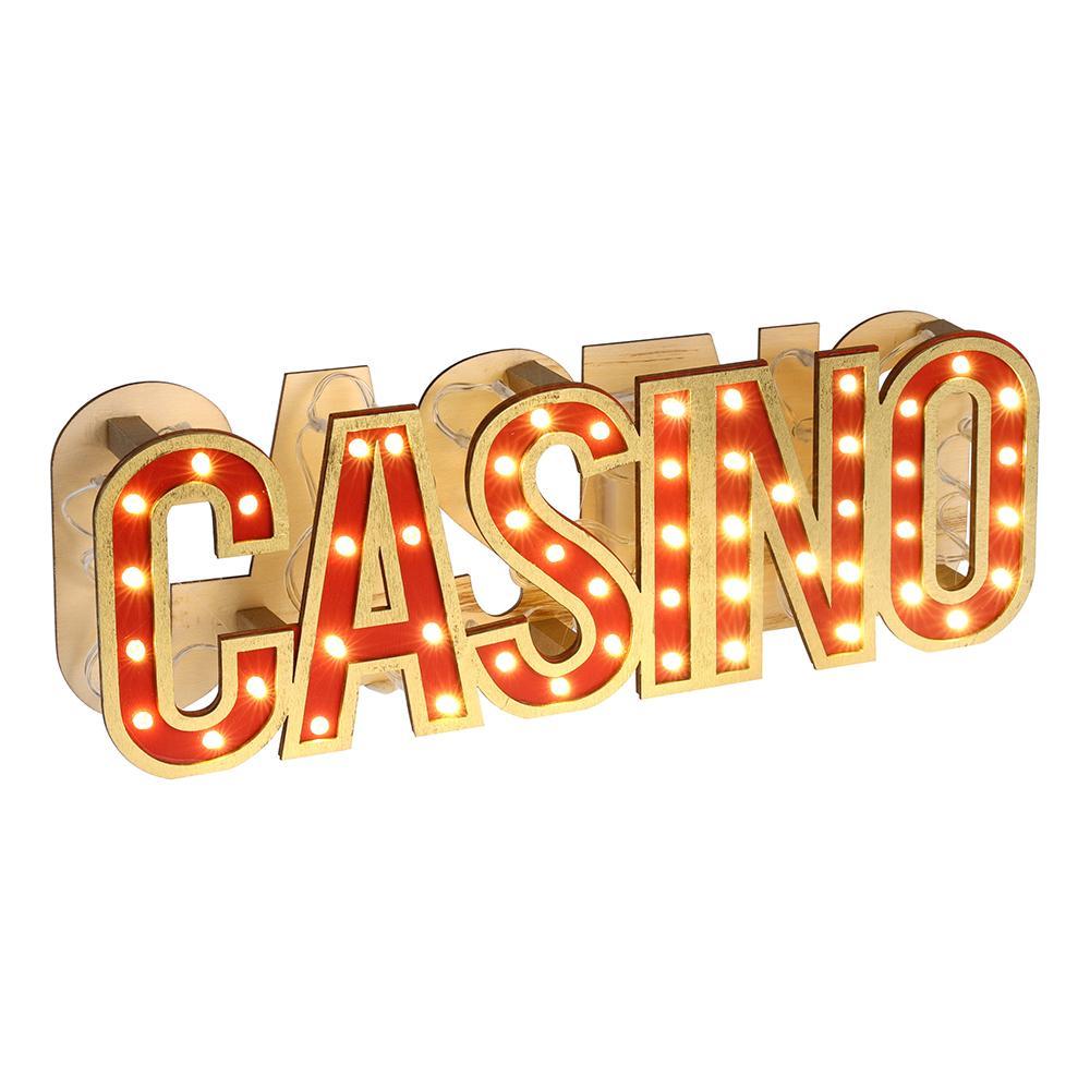 Bordsdekoration Casino LED