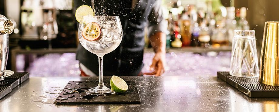 Ginprovning för två