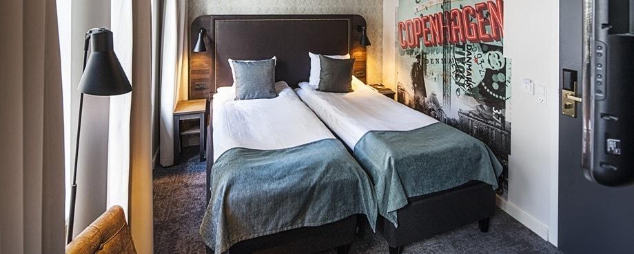 Hotellövernattning för två