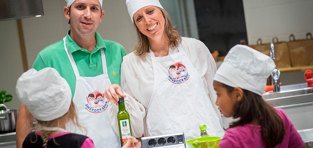 Matlagningskurs för barn i Stockholm
