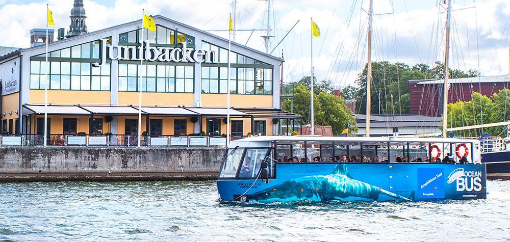 Ocean Bus i Stockholm – Sightseeing med amfibiebuss på vatten