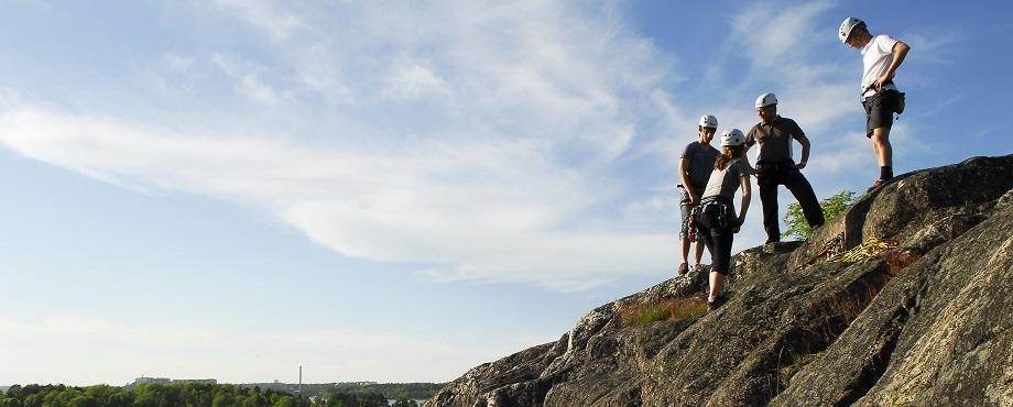Prova på klättring - Stockholm