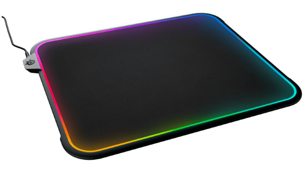SteelSeries QcK Prism RGB Gaming Musmatta - Medium (Fyndvara - Klass 1 kartongskada)