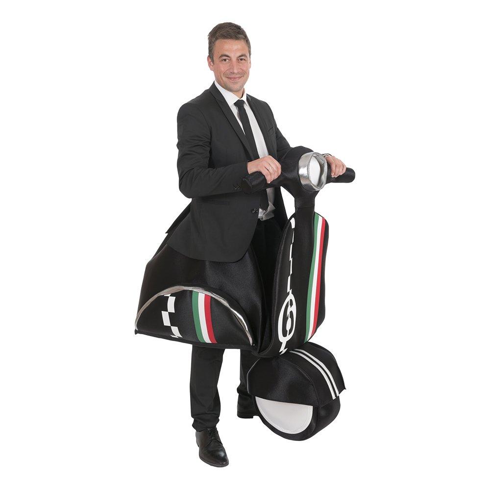 Åkande Moped Maskeraddräkt - One size (Large)