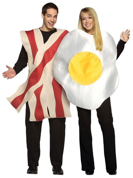 Bacon & Egg Maskeraddräkt