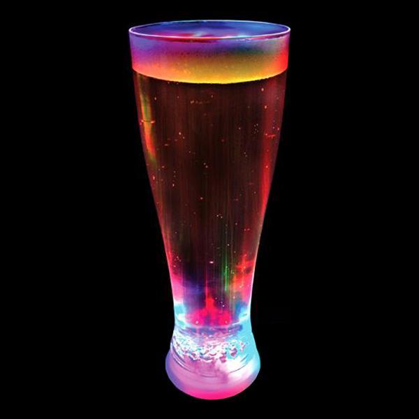 Blinkande Ölglas